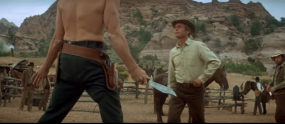 Screenshot from Butch Cassidy and the Sundance Kid
